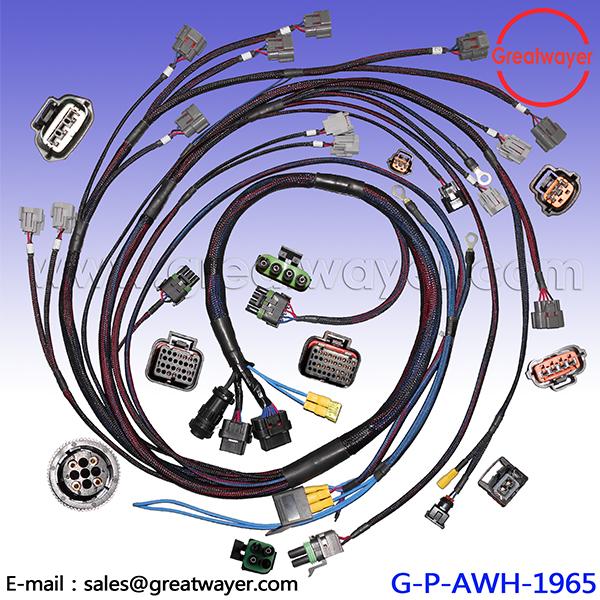 Astonishing Wiring Specialties Engine Harness For Nissan S13 240Sx Ka Ka24 Wiring 101 Ferenstreekradiomeanderfmnl